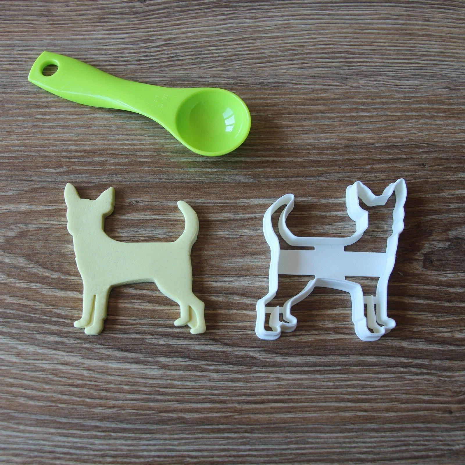 chihuahua cookie cutter dog pup pet treat