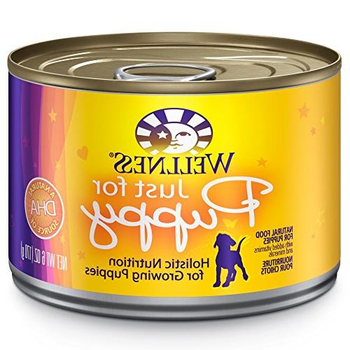 Wellness Complete Health Natural Canned Dog Food, Just For P