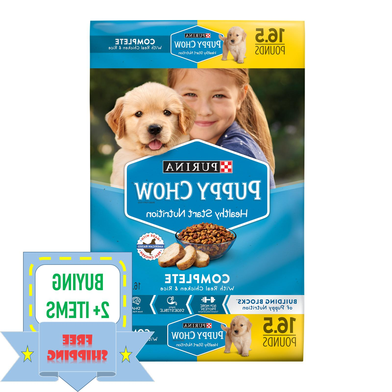 complete with real chicken dry puppy food