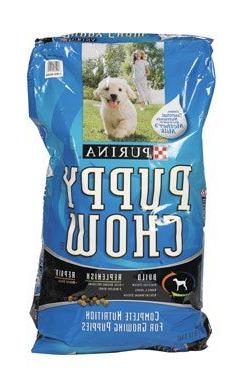 Purina Dog Chow Complete and Balanced Puppy Dry Dog Food, 32