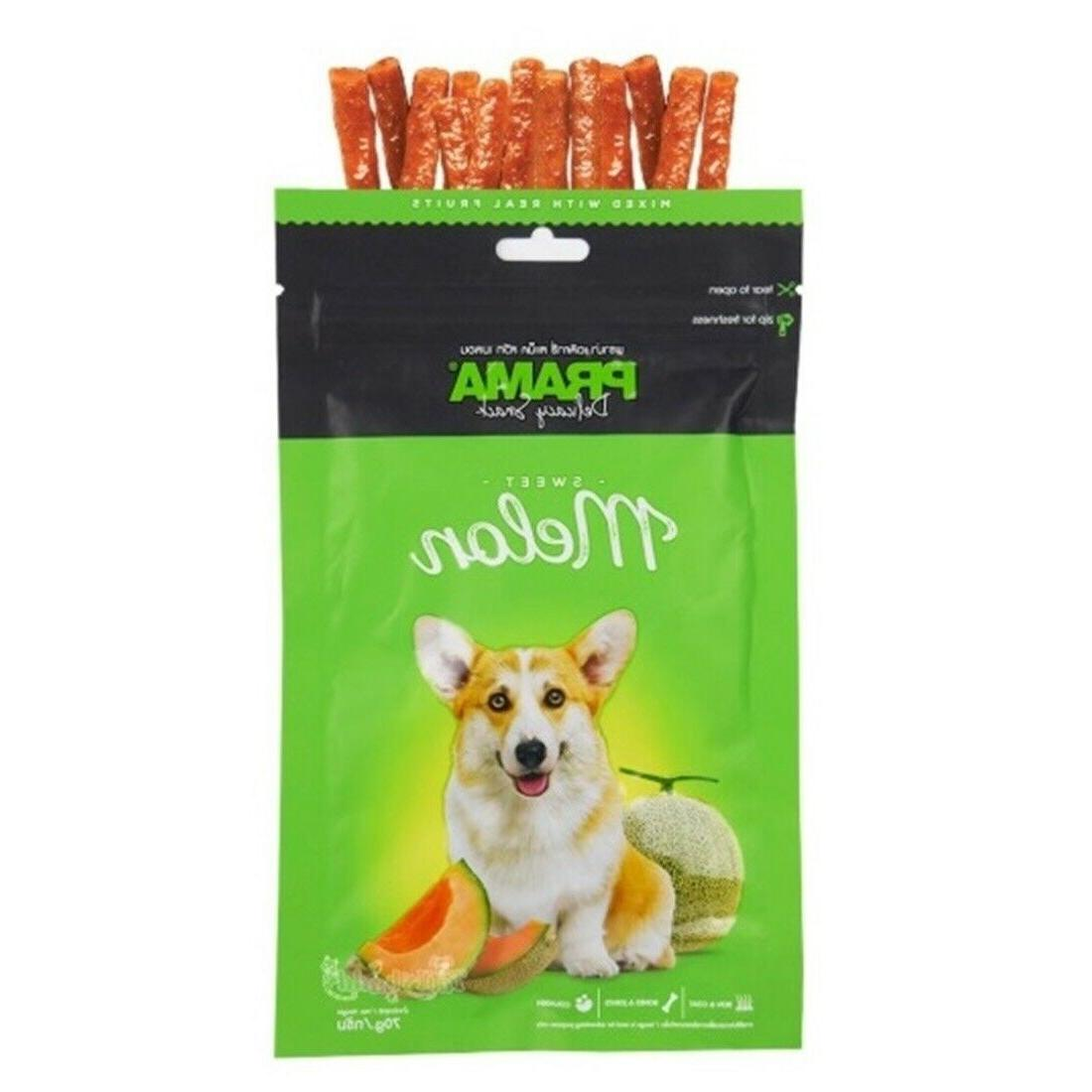Dog Fruit Treats Puppy Energy Pet Protein Real 70g