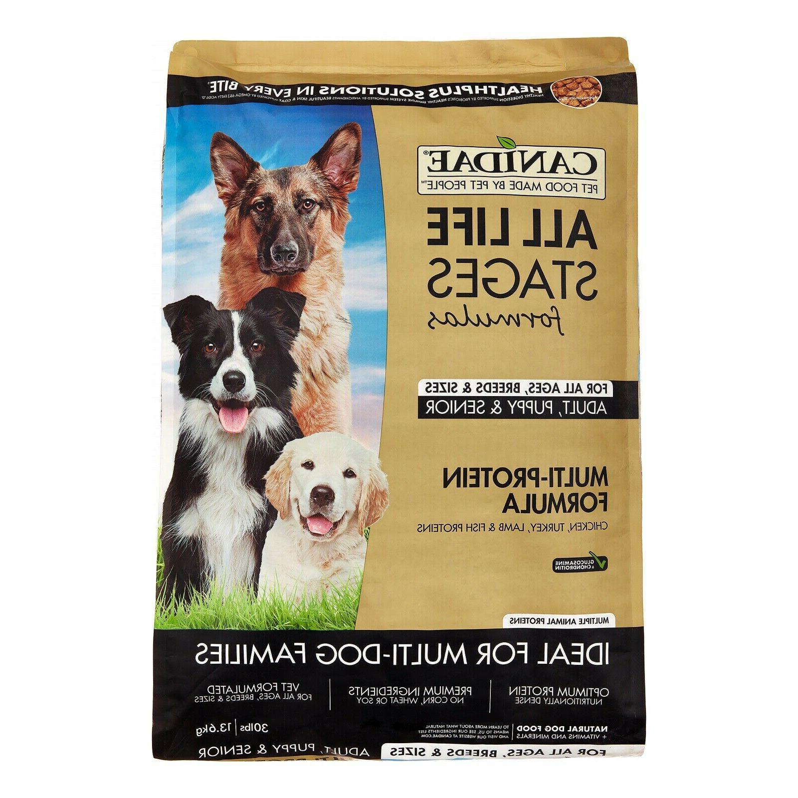 life stages dog dry food