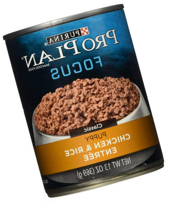 focus puppy canned wet dog food