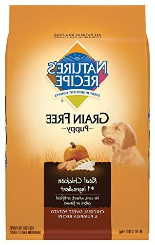 Nature's Grain Chicken, Sweet Potato and Pumpkin size: 12