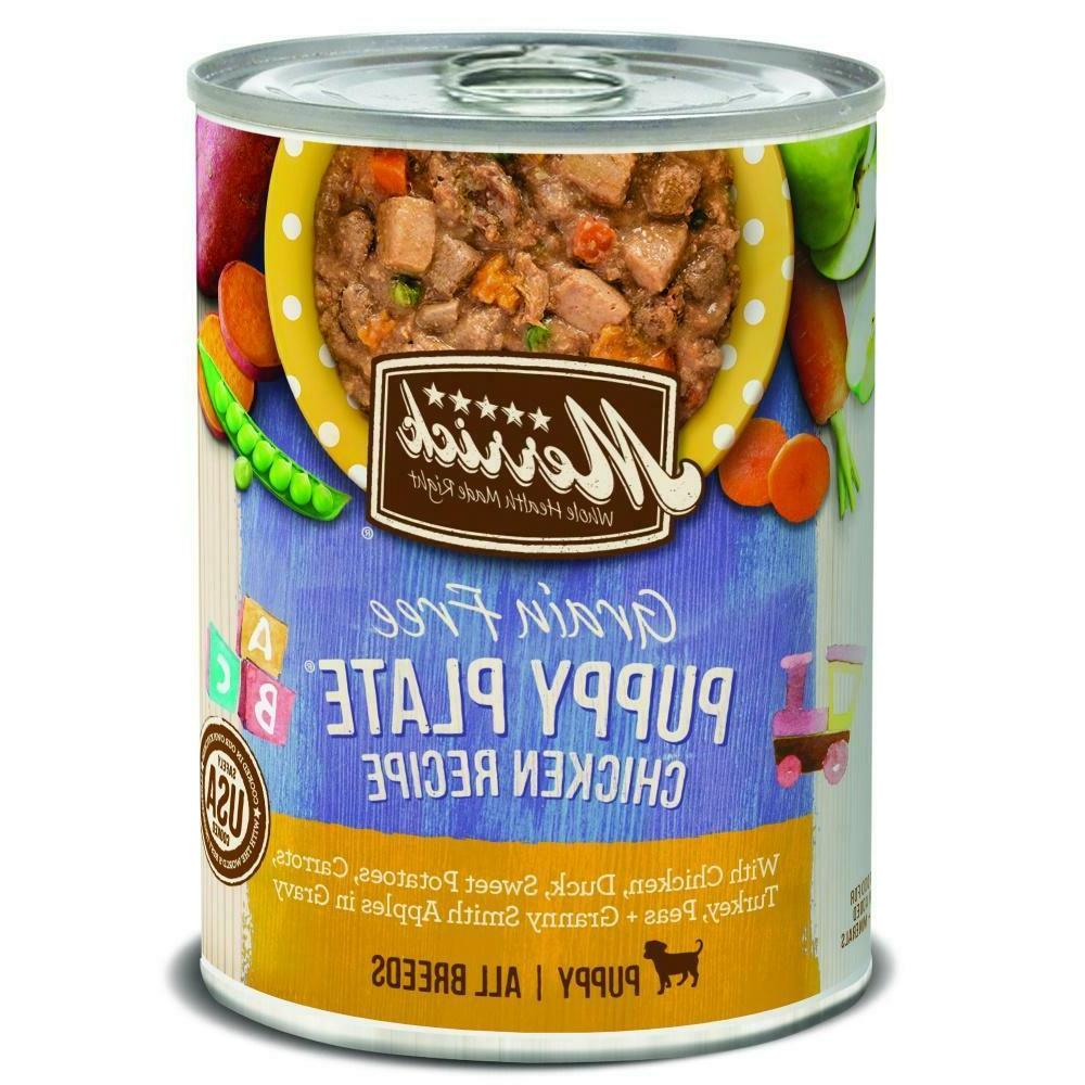 grain free puppy plate canned dog food
