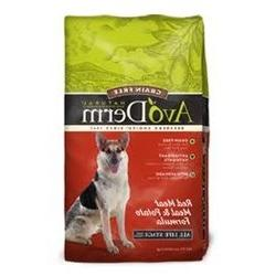 AvoDerm Natural Grain Free Red Meat Meal & Potato Formula