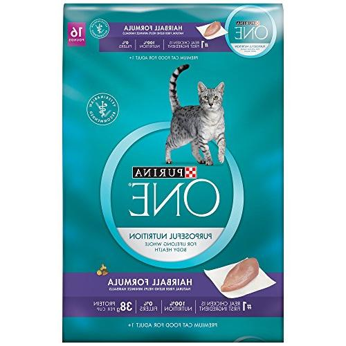 hairball formula cat food