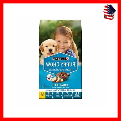 Purina Puppy Chow High Protein Dry Food Complete With Real C