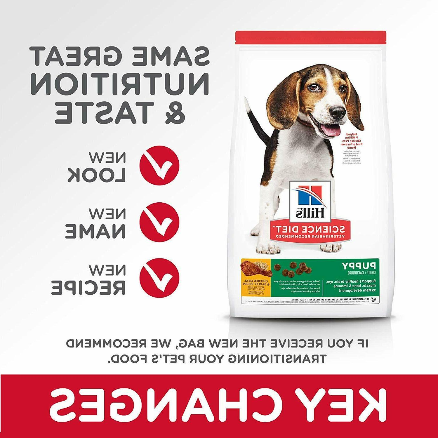 Hill's Science Meal & Dry Puppy Food, lb