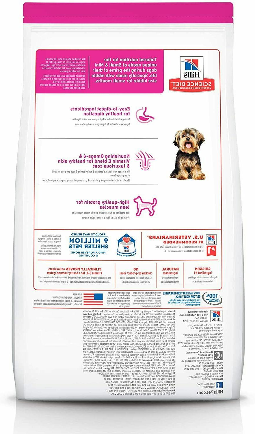 Hill's Science Dry Dog Food, Small Paws for Small Dogs