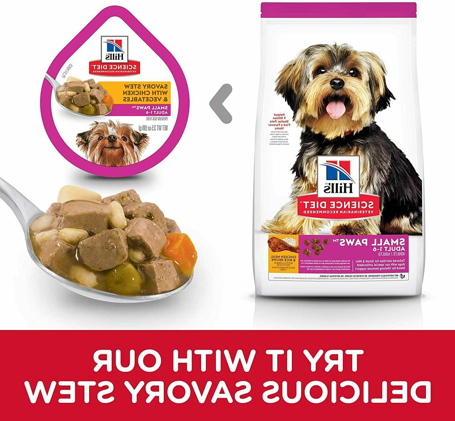 Hill's Science Diet Dry Dog Paws for Breed Dogs