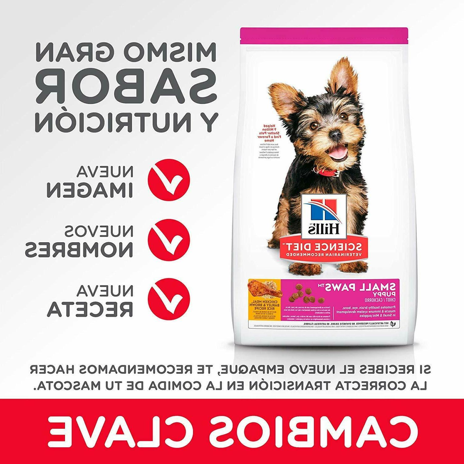 Hill's Diet Dog Puppy, for Small Breeds,