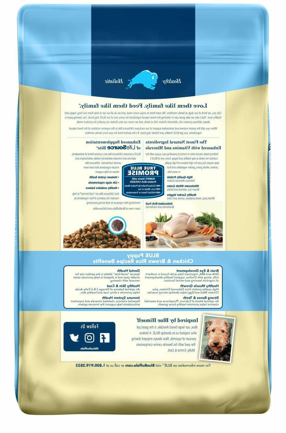 Blue Life Formula Dog Food, Chicken Br