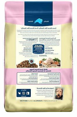 BLUE Life Formula Puppy Breed and Oatmeal Dry Food