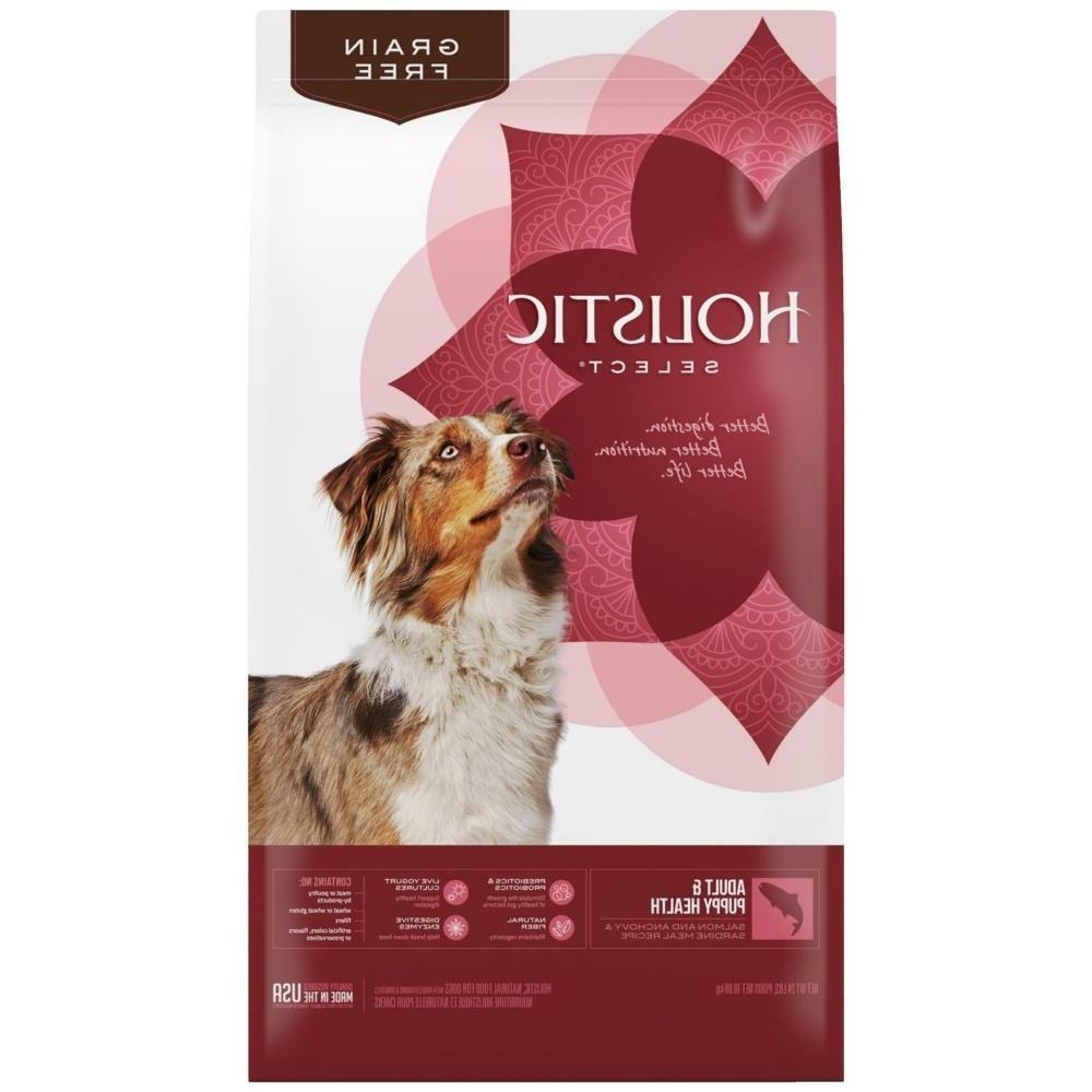 natural adult and puppy health salmon anchovy