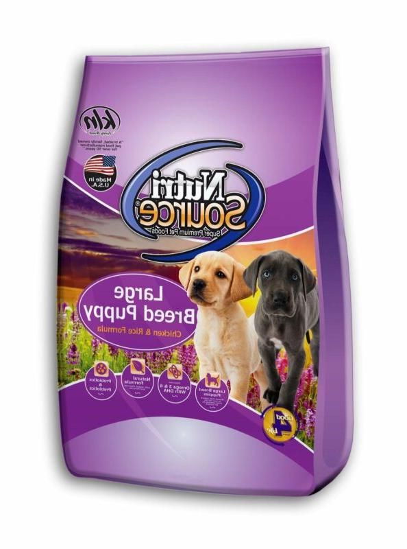 nutrisourcea large breed puppy dog food