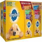 Pedigree Pouches 6 Flavor Variety Pack NEW FREE SHIPPING
