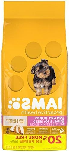 IAMS PROACTIVE HEALTH Smart Puppy Small and Toy Breed Dry Pu