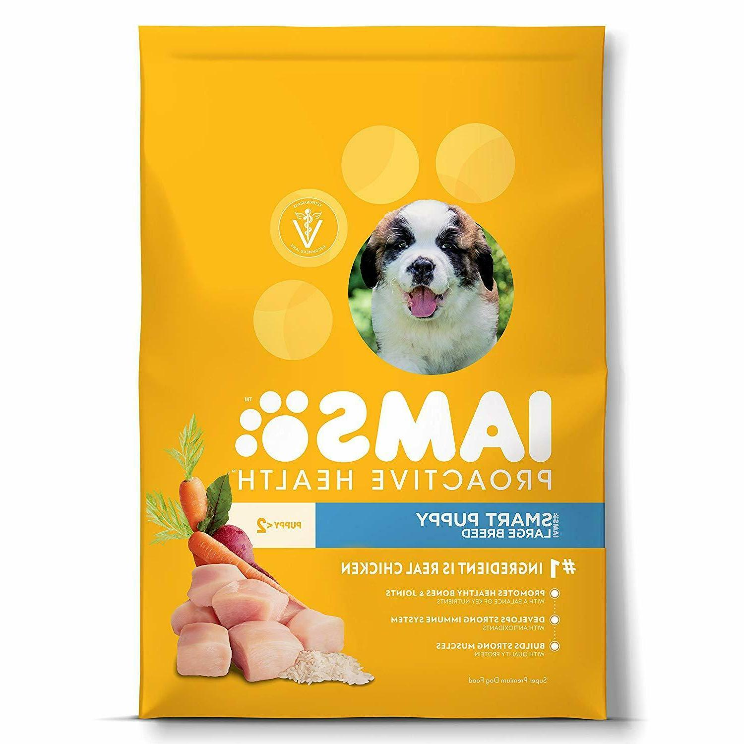 Iams Proactive Health Puppy Dry Dog Food - Chicken, Suppor