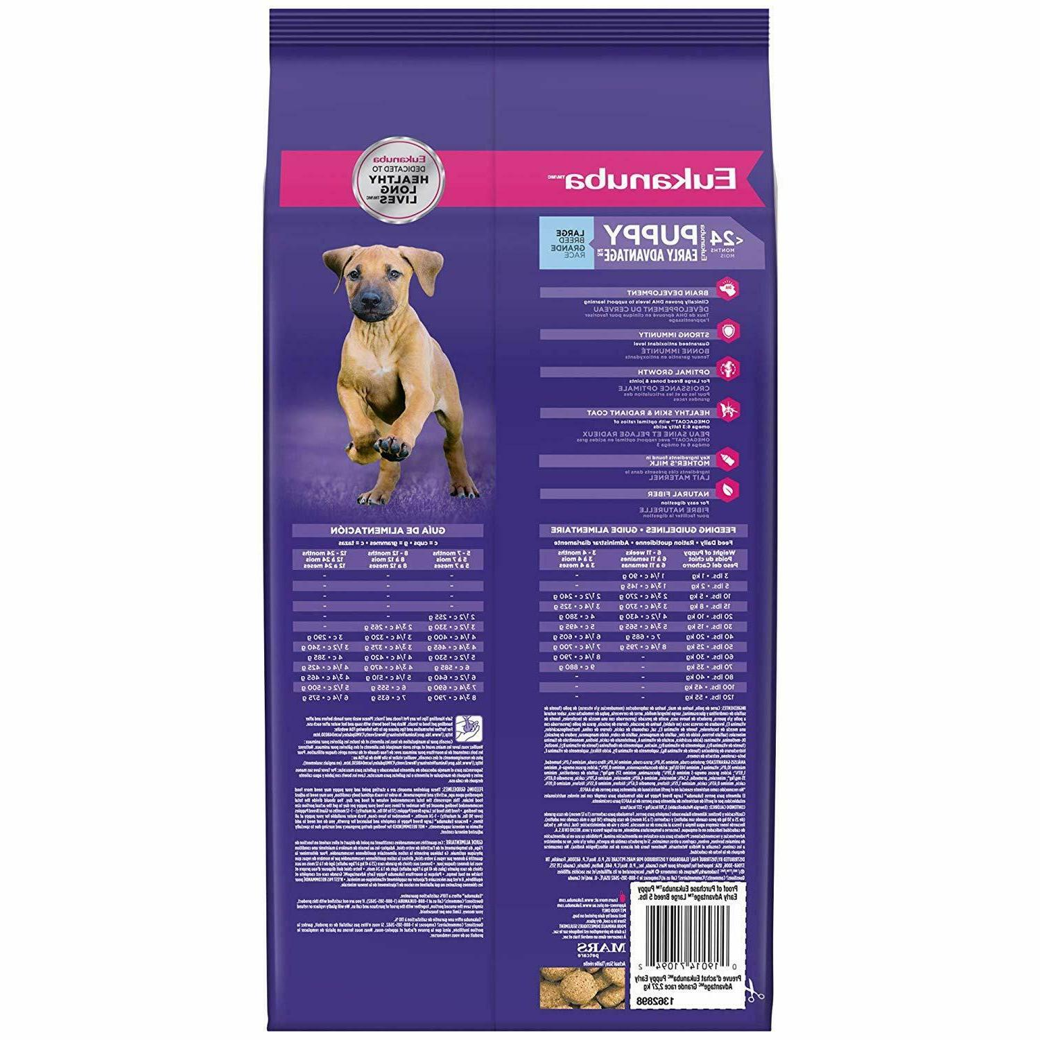 Eukanuba Puppy Food Chicken - Large Breed, 5 33 lb Bag