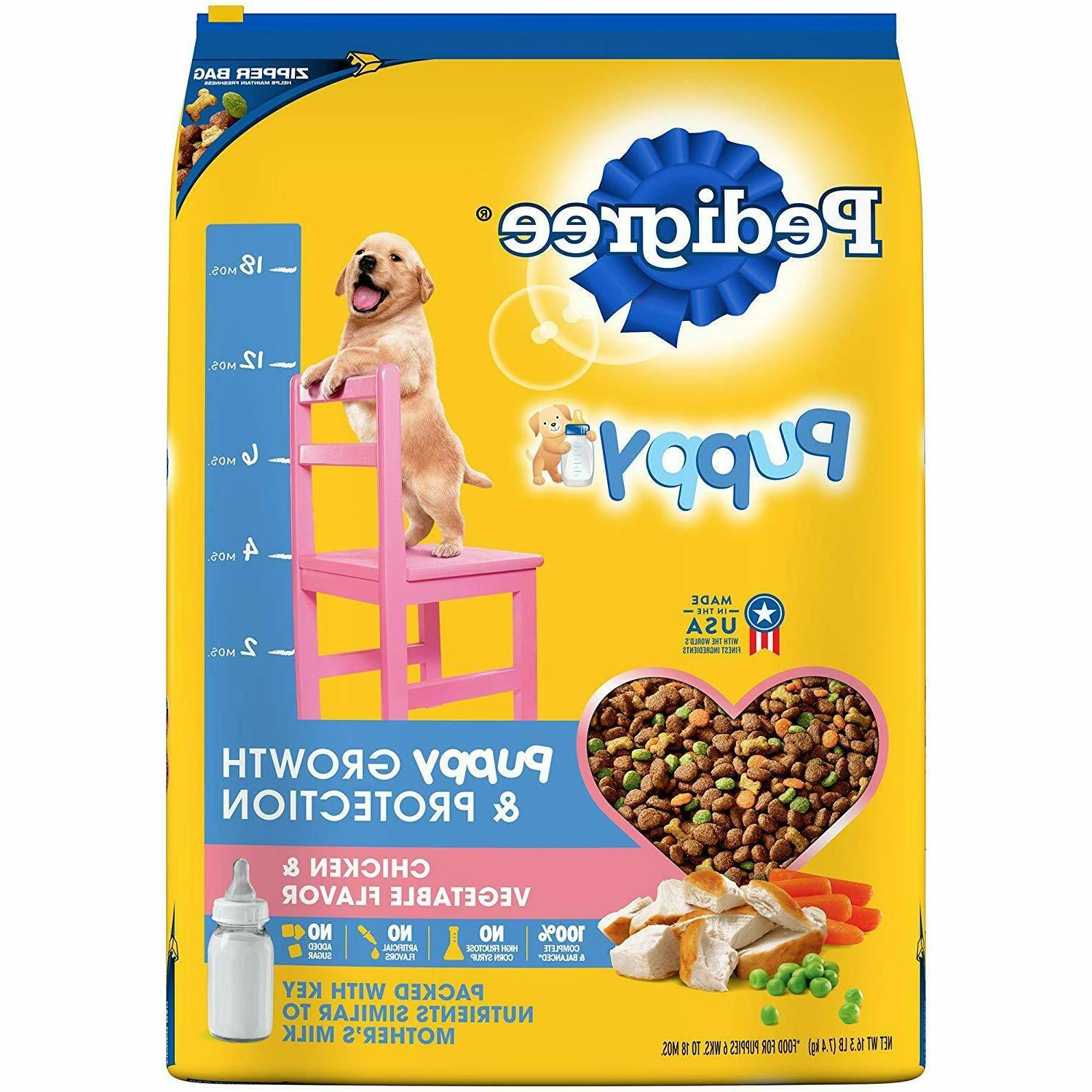 puppy growth and protection dry dog food