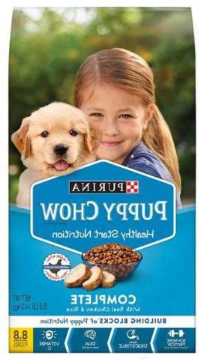 purina puppy chow high protein dry puppy