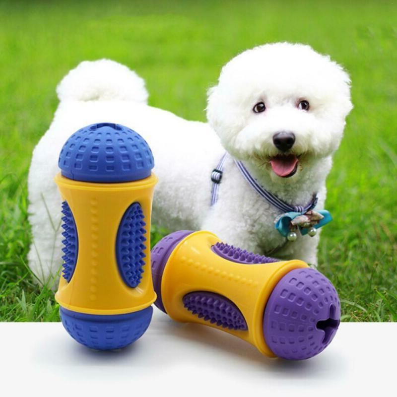 rubber pet dog puppy dental teething healthy