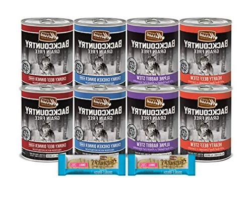 wet canned dog food grain