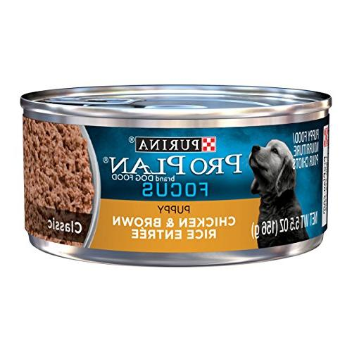 Purina Classic & Rice Wet Food Cans