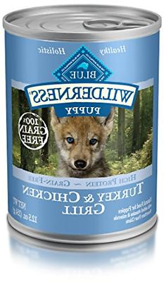 Blue Buffalo Wilderness High Protein Grain Free, Natural Pup