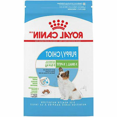 x small puppy dry food