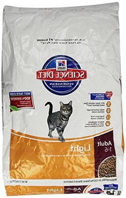Hill's Science Diet Adult Light Dry Cat Food, 17.5 lb bag