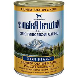 Limited Ingredient Diets, Duck and Potato Formula Canned Dog