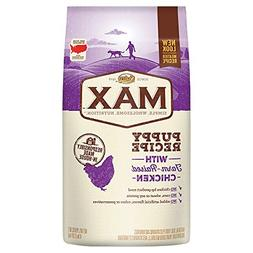 Nutro Max Puppy With Farm Raised Chicken Dry Dog Food, 4 Lbs