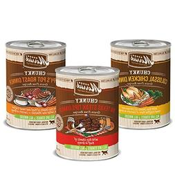 Merrick Chunky Canned Dog Food Variety Pack - 3 Flavors