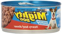 Nestle Petcare Mighty Dog Hearty Beef, 1 Count, One Size
