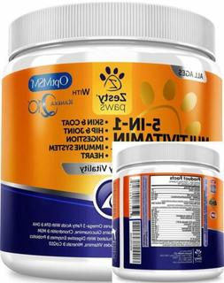 Multivitamin for Dogs - Glucosamine & Chondroitin + MSM for