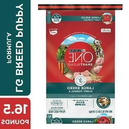 Purina ONE Natural Large Breed Dry Puppy Food, SmartBlend Pu