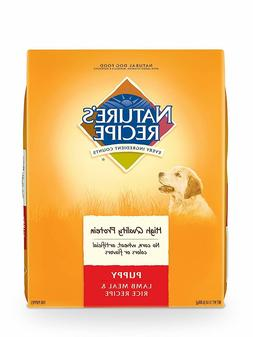 Nature'S Recipe Dry Puppy Food, Lamb Meal & Rice Repiece, 15