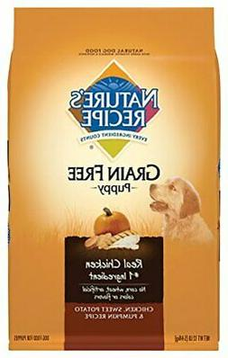 Nature'S Recipe Grain Free Dry Dog Food Puppy Chicken, Sweet