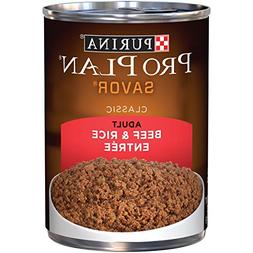 Nestle Purina Petcare Purina Pro Plan Canned Beef and Rice f