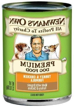Newman's Own Organics Turkey and Chicken Formula for Puppies