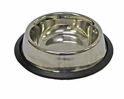 Fuzzy Puppy Pet Products NOTD-8 Non-Tip Dog Bowl with Rubber