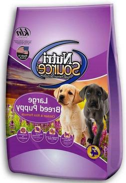 NutriSource Large Breed Puppy Chicken & Rice Dog Food