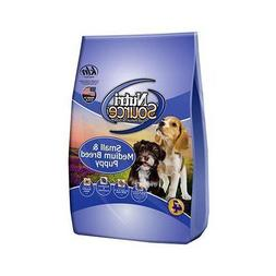 NutriSource Sm/Med Breed Dry Puppy Food 15lb