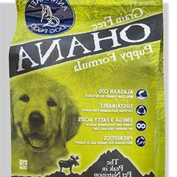 Annamaet Ohana Puppy Formula Dry Dog Food 12 Lb. Bag. with W