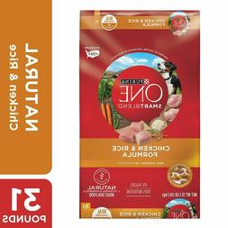 Purina ONE Natural Dry Dog Food; SmartBlend Chicken & Rice F