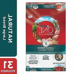 Purina ONE Natural Large Breed Dry Puppy Food, SmartBlend La