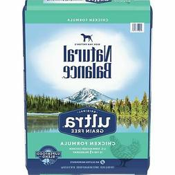 Natural Balance Original Ultra Grain Free Chicken Dry Dog Fo