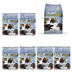 Taste of the Wild Pacific Stream Variety Pack Wet/Dry Dog Fo